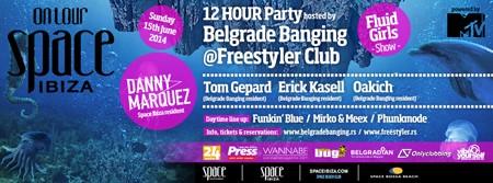 Ostalo još 200 ulaznica za Space Ibiza žurku