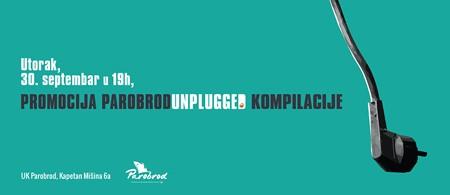 Predstavljanje Parobrod unplugged kompilacije