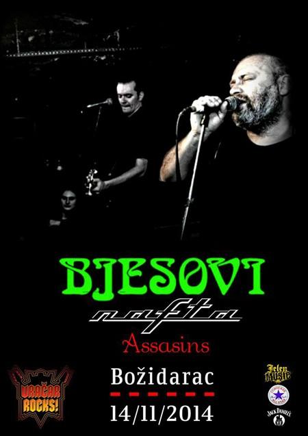 Bjesovi, Nafta i Assasins na Vračar Rocks festivalu!