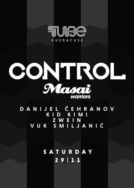 Control by Masai Warriors i Vatra za kraj novembra u Tjubu!