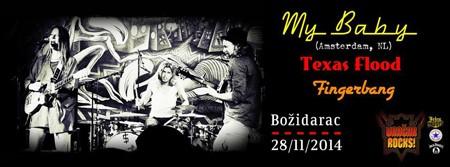 Holandska blues atrakcija My Baby u Beogradu!