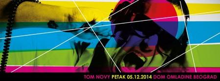 Tom Novy 5.decembra u DOB-u