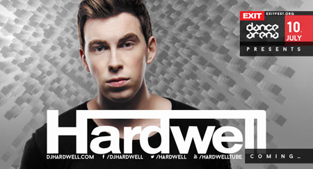 Najtraženiji svetski DJ i producent Hardwell premijerno na Exit Dance Areni!