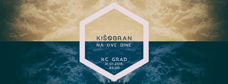 Kišobran žurka na dva sprata KC GRAD-a