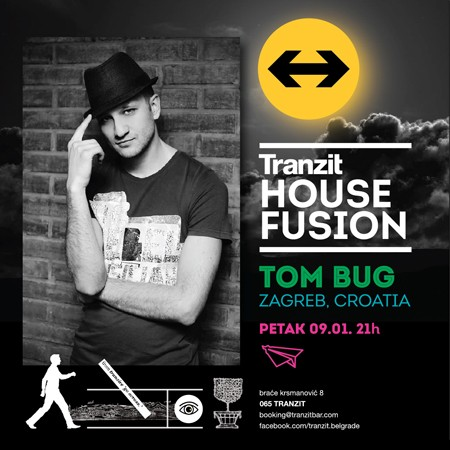 DJ Tom Bug (Cro) ovog petka u Beogradu!