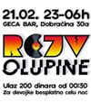 Rejv Olupine @ Geca Bar