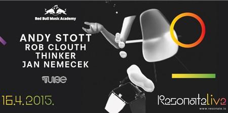 RESONATE Live predstavlja Red Bull Music Academy Night