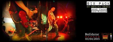 Vračar Rocks festival: SIX PACK slavi 20. rođendan!