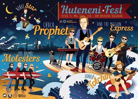 HUTENENI Fest 15. maja DOB-u