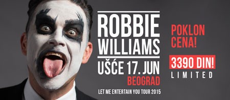 Definitivno: Robbie Williams 17. juna na beogradskom Ušću!