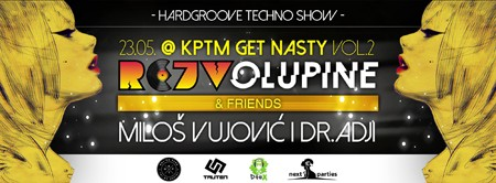 Retro Techno & Hardgroove Battle Rejv Olupine & Friends @ KPTM
