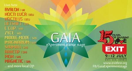 Gaia eXperiment bina