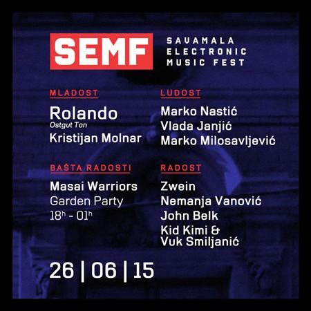 Savamala Electronic Music Fest 26. juna!