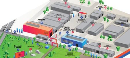 8. Cinema City - Mapa (klikni za uvećanje)