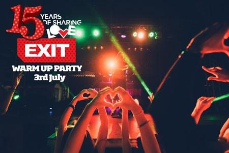 Vodimo te na EXIT žurka zagrevanja na Banging Summer Areni!