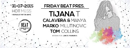 Tijana T po prvi put na Friday Beat žurci!
