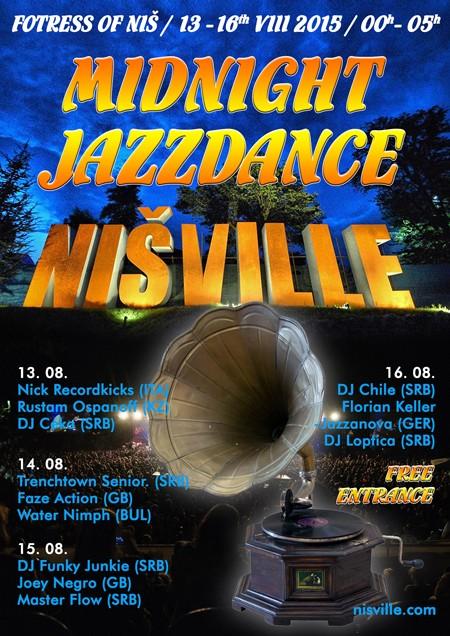 Midnight Jazzdance stage na Nišvillu