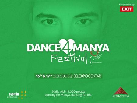 Dance4Manya Festival - pleši za Nemanjino ozdravljenje!