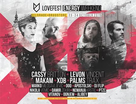 Lovefest Energy Weekend 23. i 24. oktobra u Beogradu