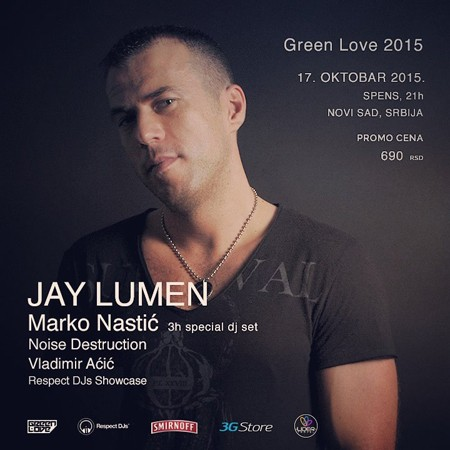 Uskoro nove žurke Green Love festivala!