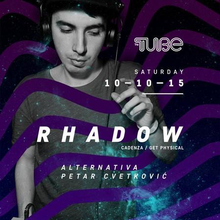 Rhadow nastupa u klubu The Tube