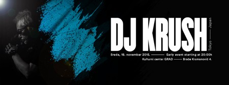 DJ Krush @ KC Grad