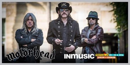 Motörhead headliner INmusic festivala!