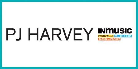 PJ Harvey na INmusic festivalu!