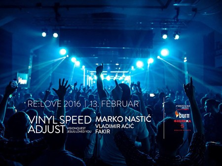 Vinyl Speed Adjust & Marko Nastić @ SKCNS Fabrika