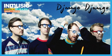 Django Django dolaze na INmusic #11!