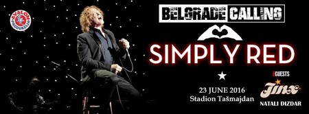 Simply Red u Beogradu!