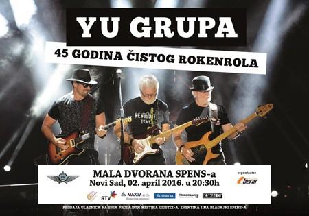 Koncert YU Grupe okuplja naše Rokenrol legende!