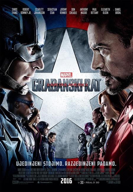 """Captain America: Civil War"" premijerno 4. maja"