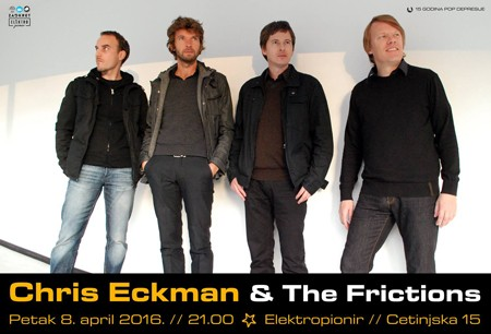 Chris Eckman & The Frictions @ Elektropionir