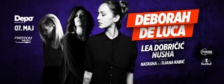 Deborah De Luca 7. maja u Beogradu!