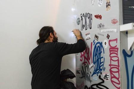 """""""Gaženje"""" uličnih umetnika u galeriji """"O3one"""" - Photo by Ruzica Milovanovic"""