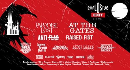 Najžešća gitarska eksplozija na Exitu!