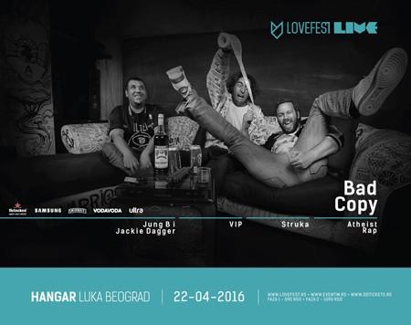 Lovefest Weekend u Hangaru