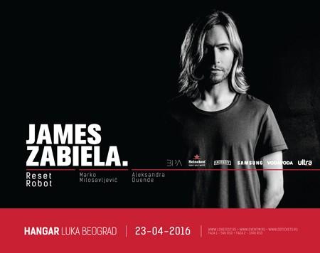 James Zabiela: Plavušan koji vlada muzičkim scenama!