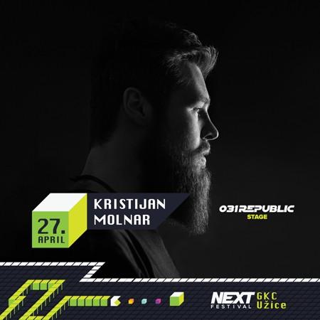 Kristijan Molnar i 031 Republic na Next festivalu u Užicu