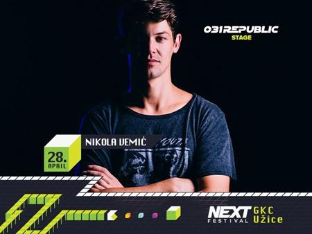 Nova imena NEXT festivala: Marko Nastić, Eyesburn i Nikola Vemić