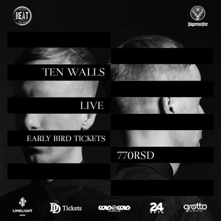 Ulaznice za Ten Walls po promotivnoj ceni!
