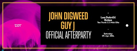 Zvanični John Digweed & Guy J afterparty u Dot-u!
