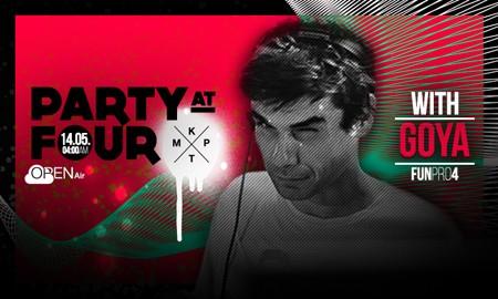 DJ Goya na open air žurci u KPTM-u