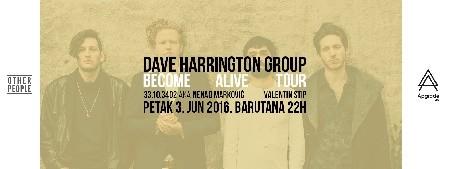 Dave Harrington sa bendom 3. juna u Beogradu za novi Apgrade Live!