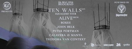 Ograničen broj karata za Ten Walls LIVE u prodaji!