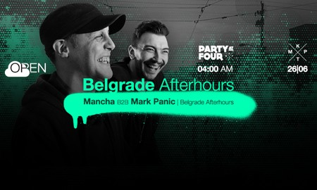 Belgrade Afterhours w/ Mancha b2b Mark Panic