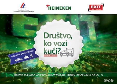 Besplatan prevoz na EXIT iz Beograda