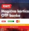 Nova EXIT magična kartica OTP banke donosi uštede na festivalu i tokom cele godine širom zemlje!