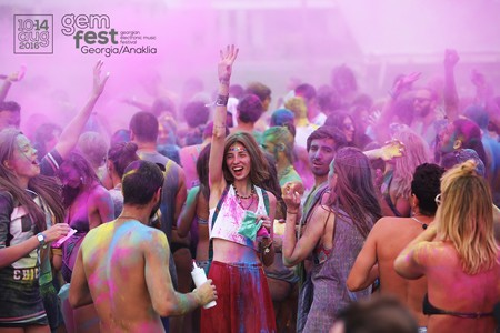 GEM FEST 10 - 14 Avgust, Anaklia, Gruzija